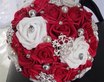 Brooch Bridal Bouquet, 1