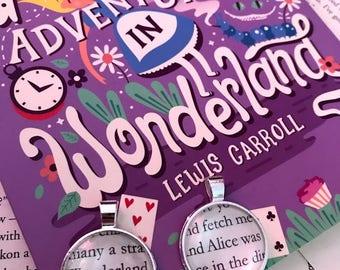 Alice in Wonderland Custom Pendant