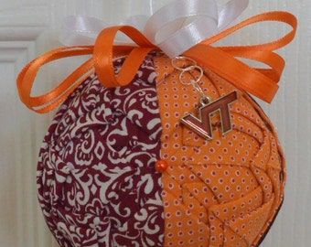 Personalized Quilted Christmas Ornament