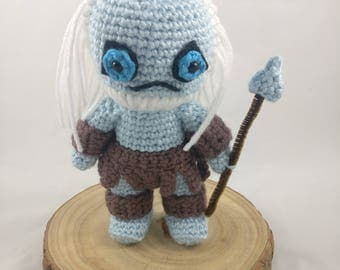 PATTERN - Game of Thrones White Walker - Amigurumi Crochet Pattern