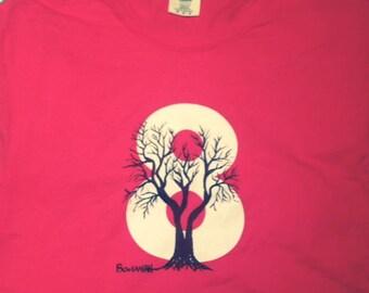 Bohanan Tee Red Comfort Color T-Shirt Tee Shirt