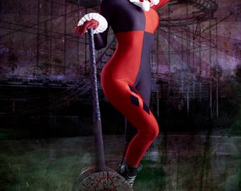 Classic Harley Quinn Cosplay 3
