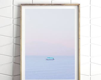 Boho Chic Wall Art, Photographic Prints, Pastel Print, Coastal Art, Ocean  Photography