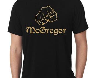 Team McGregor Gold T-Shirt