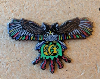 Electric Forest Owl Pin