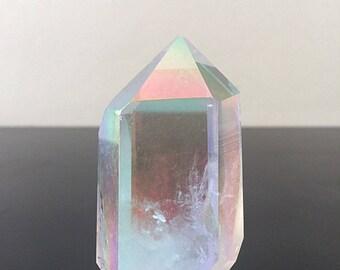 Angel Aura Quartz Crystal Tower 011318