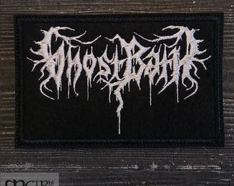 Patch Ghost Bath Depressive Post Black Metal Band.