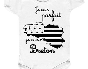 """I'm perfect, I'm breton"" Bodysuit"