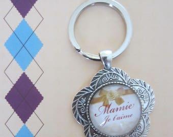 "Grandmas/grandmothers day - Gift for Grandma: key ""Grandma I love you"""