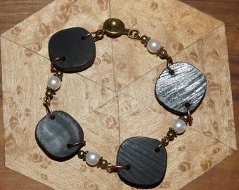 Bracelet made of precious wood: Vienna