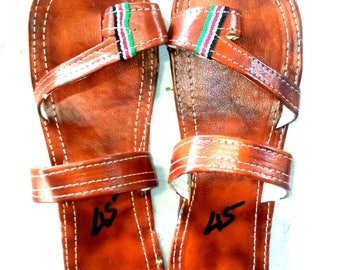 Tribal Sandals, Masai Sandals, Men Sandals, Handmade Sandals, Men Leather Sandals, Leather Sandals, Ethnic Sandals, African Sandals, Sandals