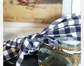 Diane gingham headband