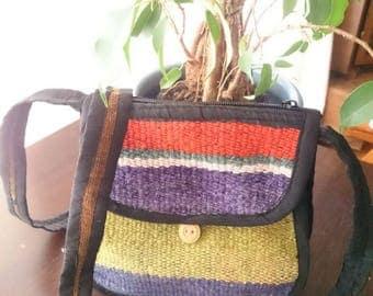 Ethno crossbody handbag