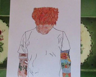 Collage Print- Ed Sheeran
