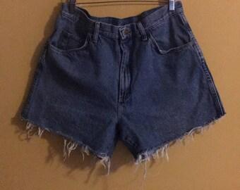 Wrangler blue vintage denim shorts