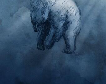 Polar Bear Print 2