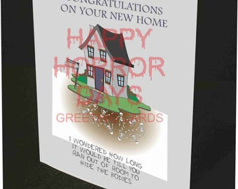 New Home 7x5 Card
