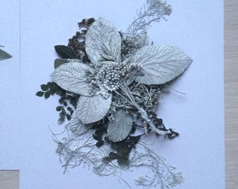 Beauty of Garden 1  - Floral composition from dried flowers