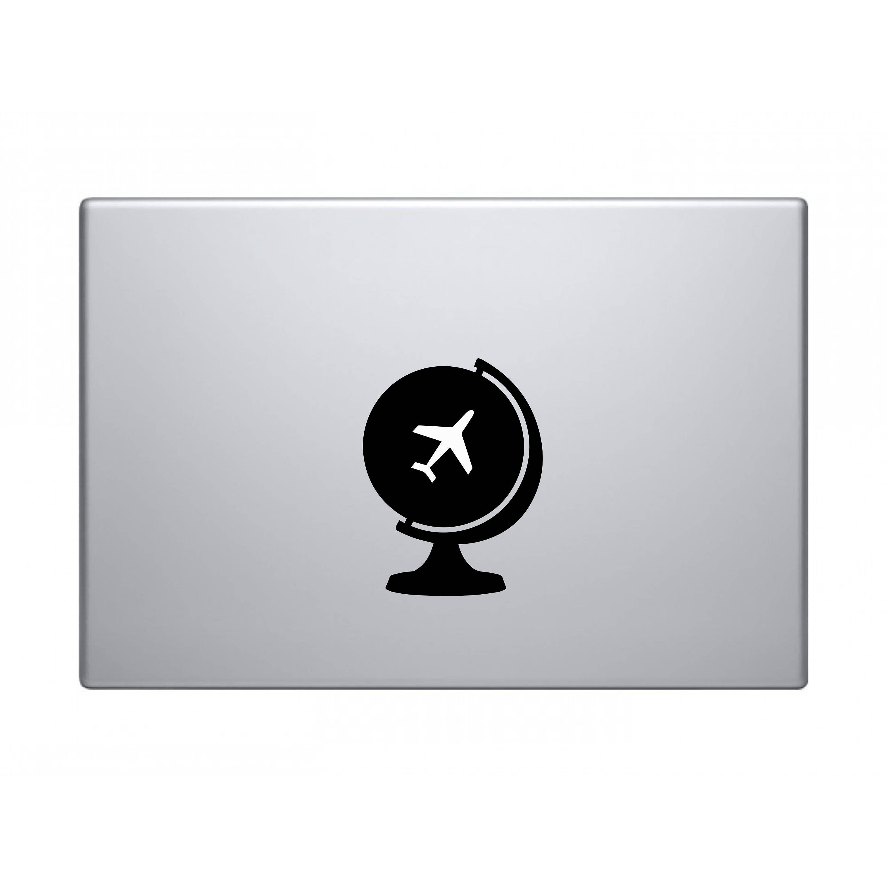 Travel globe world map macbook decal sticker apple imac gumiabroncs Image collections