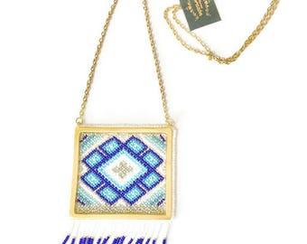 Aramara Necklace With Square Pendant