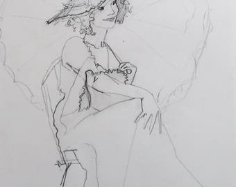 Female Figure Drawing #6