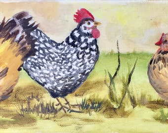 Three Fat Hens