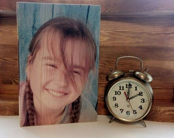 Photo on wood,Birthday gift, Gift for the wedding anniversary,Decor home