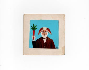 Bunny Butler - Cannabis Inspired Cabinet Card
