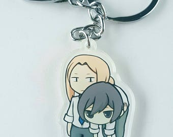 Tanaka and Oota Acrylic Keychains