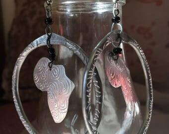 Beautifully Designed African Earrings