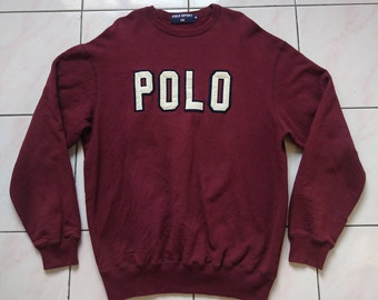 Vintage sweatshirt Polo sport Ralph Lauren (spell out)