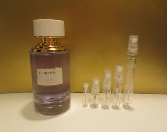 Boucheron Iris de Syracuse 1-10ml travel samples, niche perfume, new luxury line release