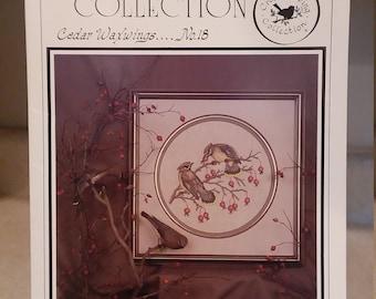 Crossed Wing Collection ~ Cedar Waxwings  No. 18