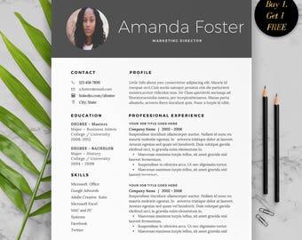 CV Template Word, Modern CV Design, Creative CV Template, Modern Cv template, Cv template with photo,  cv Template 2017, Curriculum Vitae