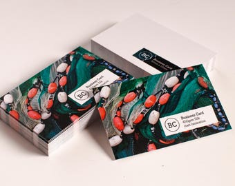 Business Cards Premium Double Sided Silk 450gsm Business Card Printing Premium