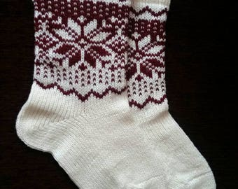 Wool socks, knitted socks, winter wool socks, women socks, wool socks women