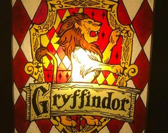 Gryffindor House Crest Light-Box