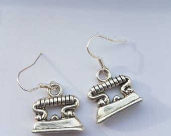 Retro - Irons - Earrings