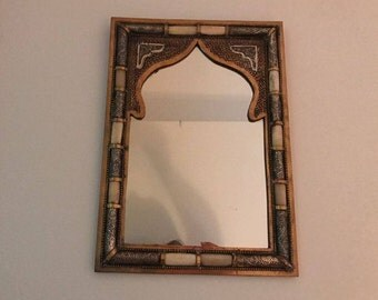 Moroccan Steal Mirror