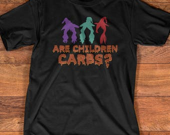 funny halloween t shirt gift hocus pocus mean girls are children carbs - Halloween Quote Mean Girls