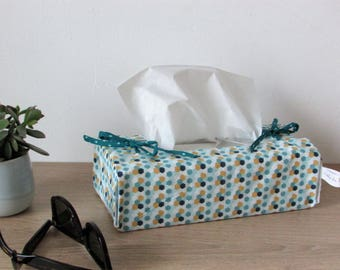 DENIM tissue box cover