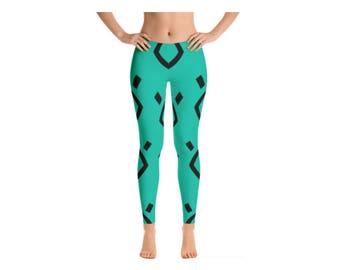 Geometric Gym Leggings, Colorblock Fitness Leggings, Workout Leggings, Trippy Eyes Leggings, Yoga Leggings, Yoga Pants, Womens Workout Pants