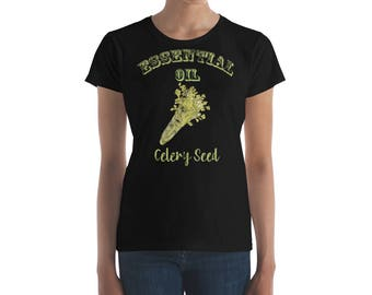 Essential Oil Celery Seed Women's short sleeve t-shirt