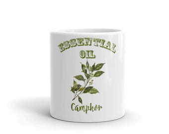 Essential Oil Camphor Mug