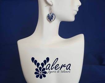 Talavera (circular earrings) jewelry