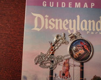 Disney Map Necklace - Haunted Mansion