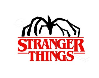 Stranger Things Mind Flayer SVG & Studio 3 Cut File Cutouts Files Logo for Silhouette Cricut Brother Decals SVGS Decal Logos Cutout Monster