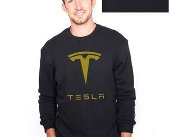 Tesla Sweater, Tesla Shirt, Tesla Inspired High Quality Soft Unisex Crewneck Sweatshirt