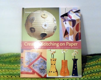 papercraft/ Creative Stitching / art and craft with paper / Chinese Lanterns / Pattern Ideas Book / Papercraft Ideas / papercraft projects