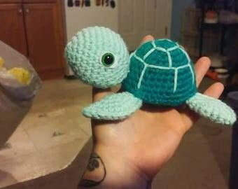 Sea Turtle Amigurumi Stuffed Toy